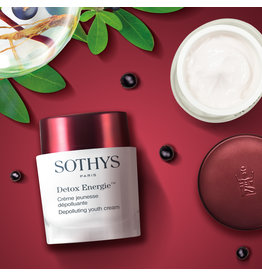 Sothys Sothys Detox Energie, Crème Jeunesse dépolluante ( Crème énergisant vernieuwd )