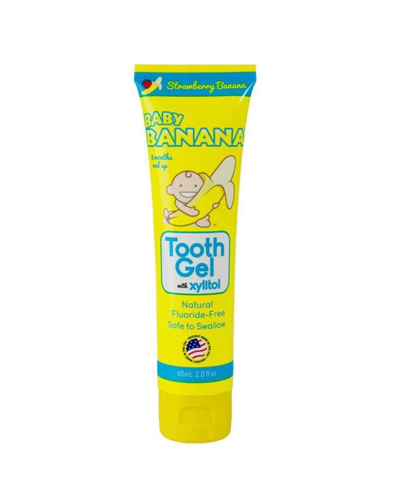 Baby Banana Baby Banana tandgel aardbei-banaan
