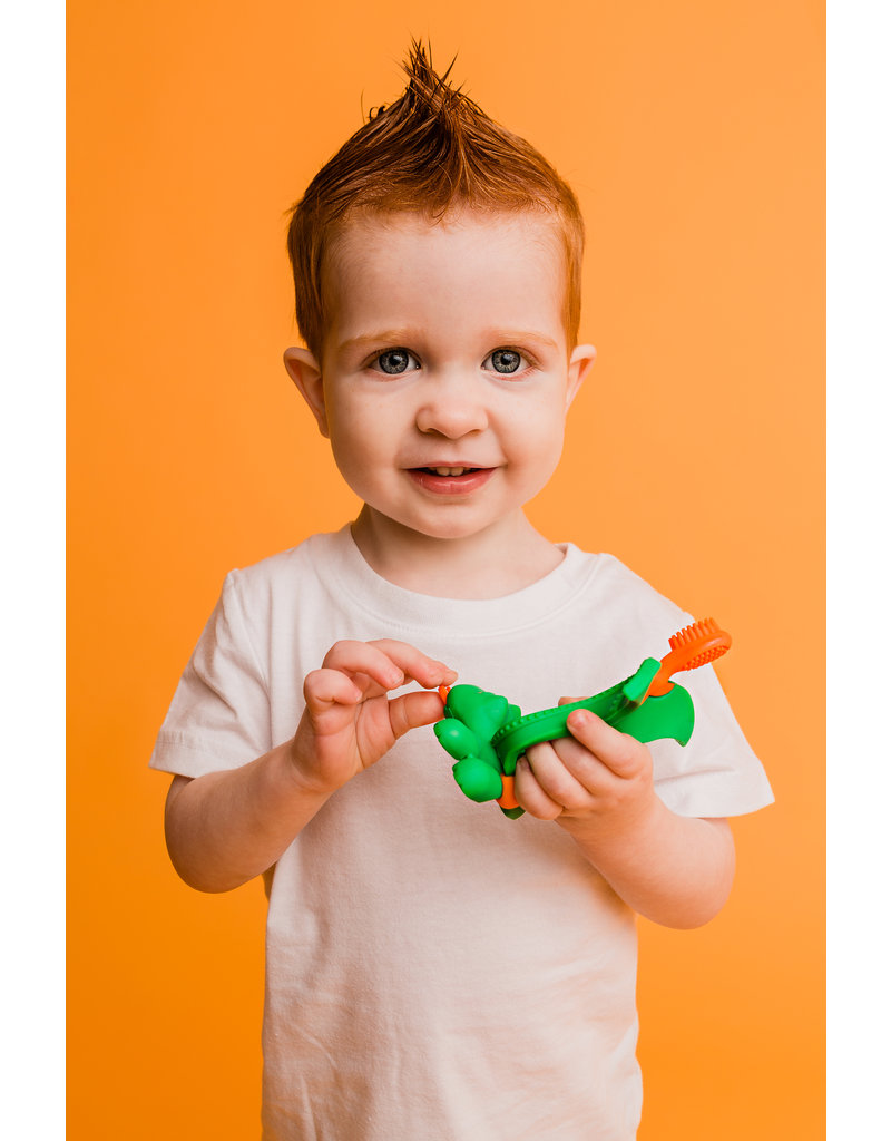 Baby Banana Baby tandenborstel / bijtspeeltje Mystical Dragon