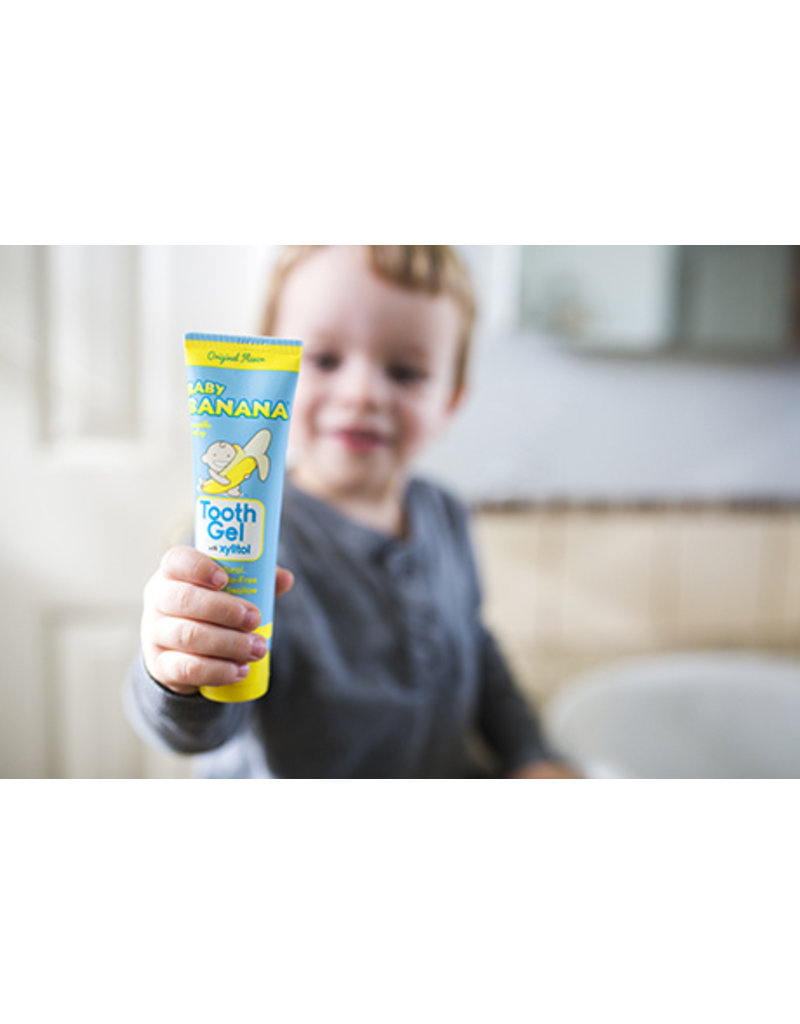 Baby Banana Tooth Gel with Xylitol, original