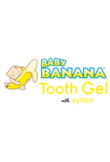 Baby Banana Tooth Gel with Xylitol, strawberry-banana