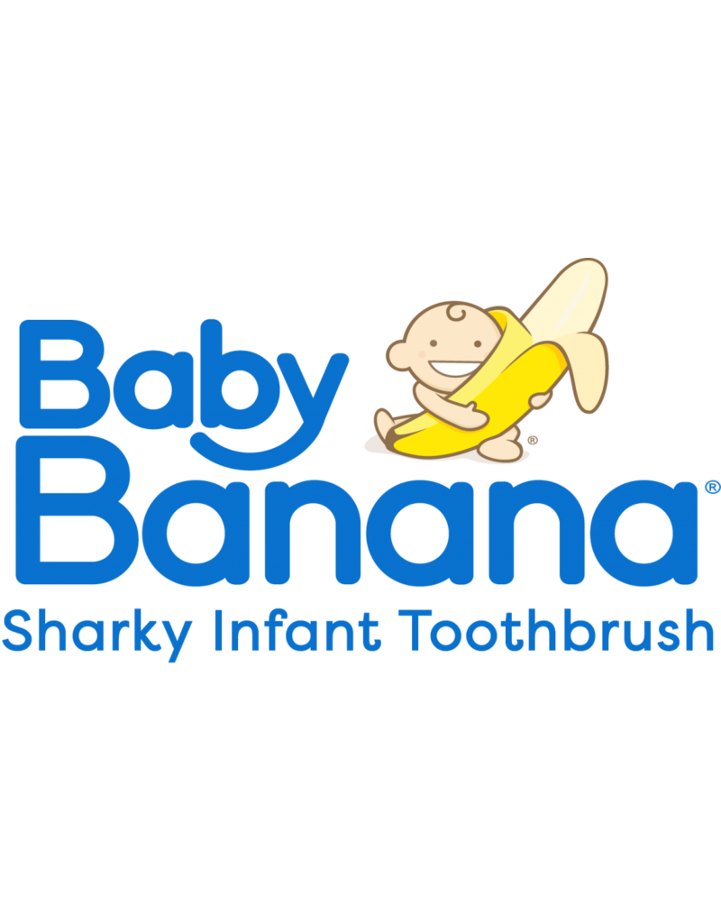 Baby Banana Baby toothbrush Sharky