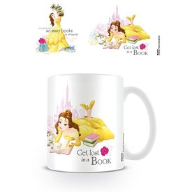 Beauty And The Beast Books Mug