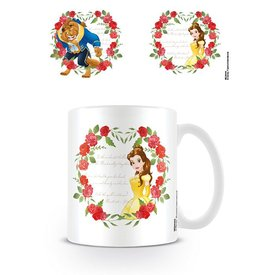 Beauty And The Beast Roses Mug