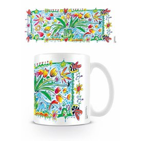 Guus Van Eck Fleurs Dans une Vase - Mug