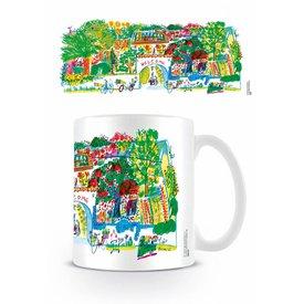 Guus Van Eck Flower Garden - Mug