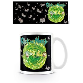 Rick And Morty Floating Cat Dimension - Mug