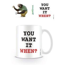 Zootropolis You Want It When? - Mug