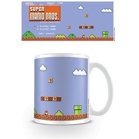 Super Mario Retro Title - Mug