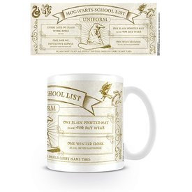 Harry Potter Hogwarts School List Uniform - Mug