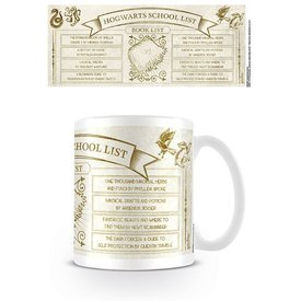 Harry Potter Hogwarts School List Books - Mug