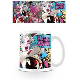 Batman Harley Quinn Neon - Mok