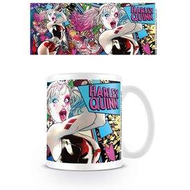 Batman Harley Quinn Neon - Mug