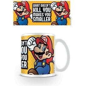 Super Mario Makes You Smaller - Mug
