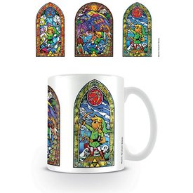 The Legend Of Zelda Stained Glass Tri - Mug