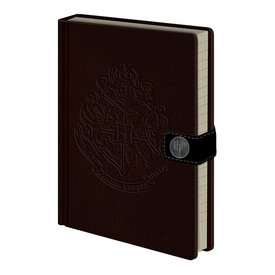 Harry Potter Hogwarts Crest - Premium A5 Notebook