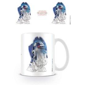 Star Wars The Last Jedi R2-D2 Brushstroke - Mug