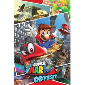 Super Mario Odyssey  Collage - Maxi Poster
