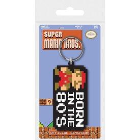 Super Mario Bros. Born In The 80's - Porte-clé
