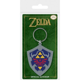 The Legend Of Zelda Hylian Shield  - Keyring