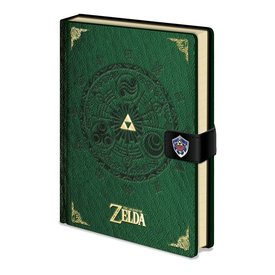 The Legend Of Zelda - Cahier de note A5 premium