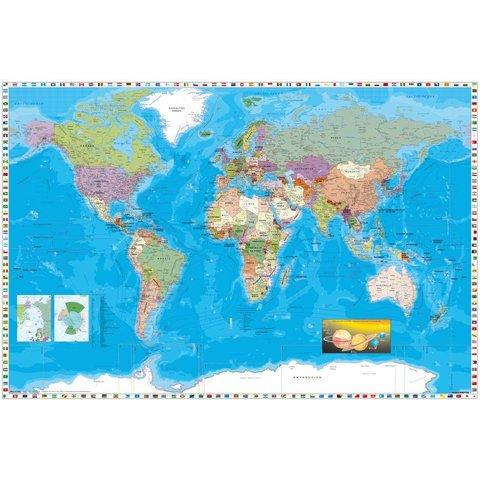 Wereldkaart - Maxi Poster