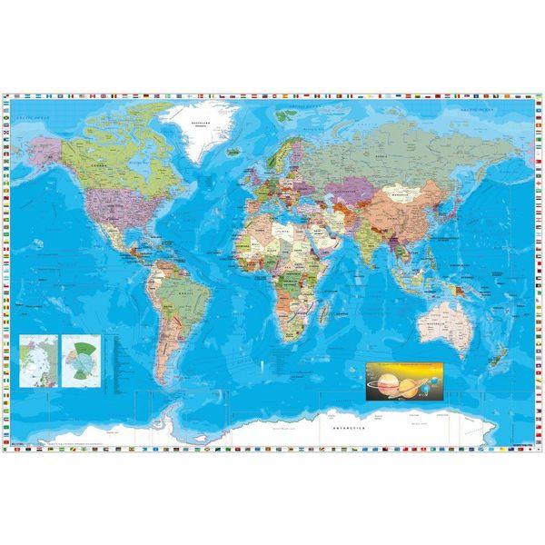 World Map - Maxi Poster