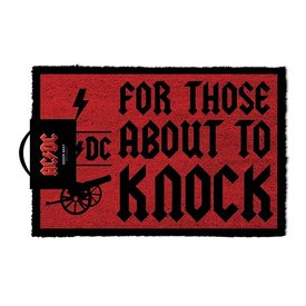 AC/DC For Those About To Knock - Deurmat