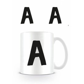 Alphabet Mug Letter A