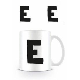 Alfabet Mok Letter E