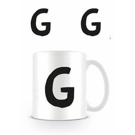 Alphabet Mug Lettre G