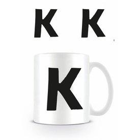 Alphabet Mug Lettre K