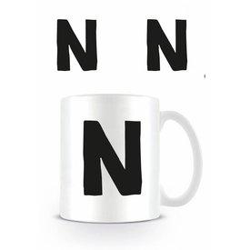 Alphabet Mug Lettre N