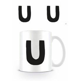 Alphabet Mug Lettre U