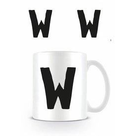 Alphabet Mug Lettre W