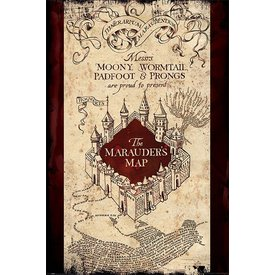 Harry Potter The Marauders map - Maxi Poster