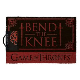 Game Of Thrones Bend the knee - Deurmat
