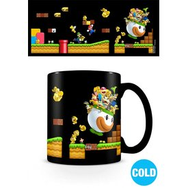 Super Mario  Gold Coin Rush Heat Changing Mug