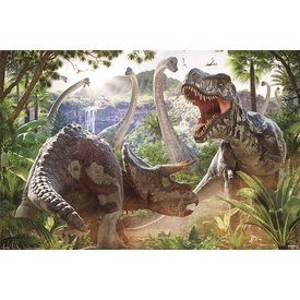 Dinosaur Battle David Penfound - Maxi Poster