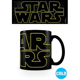 Star Wars Logo Characters  - Heat Changing Mug