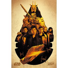 Solo: A Star Wars Story Millennium Falcon Montage - Maxi Poster