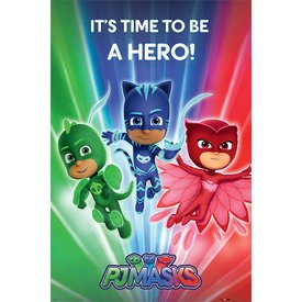 PJ Masks Be a Hero - Maxi Poster
