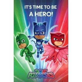 PJ Masks Be a Hero - Maxi Poster