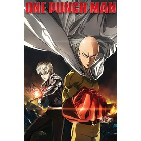 One Punch Man Destruction - Maxi Poster