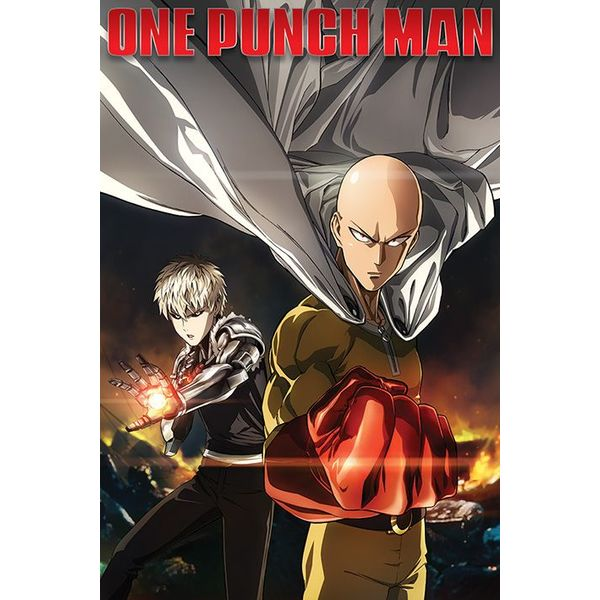 One Punch Man Destruction - Maxi Poster