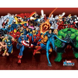 Marvel Heroes Attack - Mini Poster