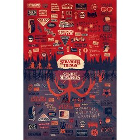 Stranger Things The Upside Down - Maxi Poster