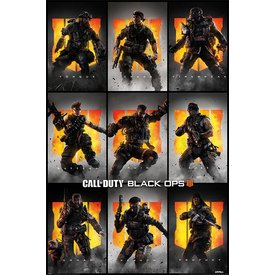 Call of Duty Black Ops 4 Characters - Maxi Poster