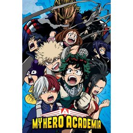 My Hero Academia Cobalt Blast Group Maxi Poster