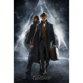 Fantastic Beasts The Crimes Of Grindelwald Newt & Dumbledore - Maxi Poster